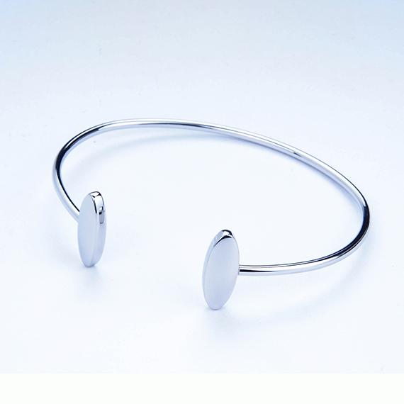 抗過敏不鏽鋼硬手環|永恆豆豆