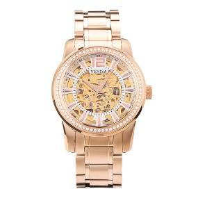 機械錶 玫瑰金 機械錶入門款推薦 璀璨雅致 鋼帶