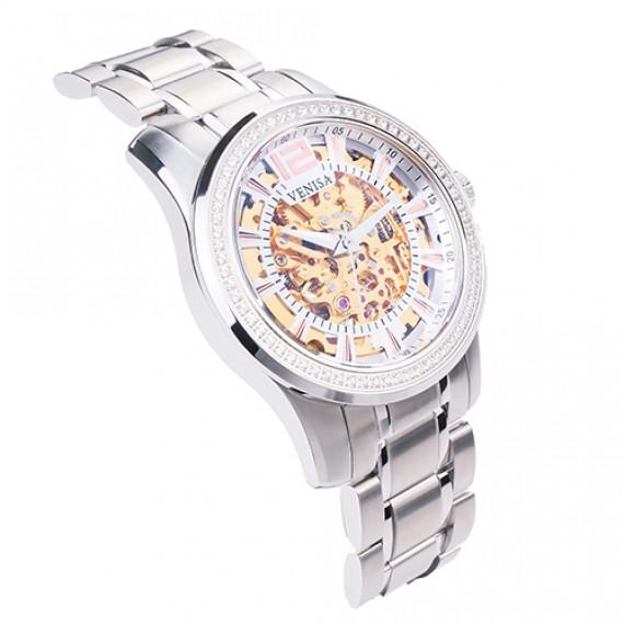 機械錶|鋼色 機械錶入門款推薦 璀璨雅致 鋼帶
