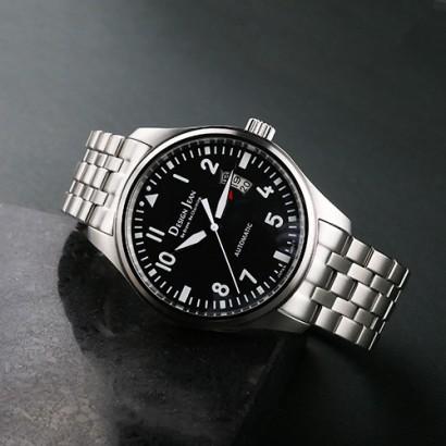機械錶|鋼色 飛行員錶