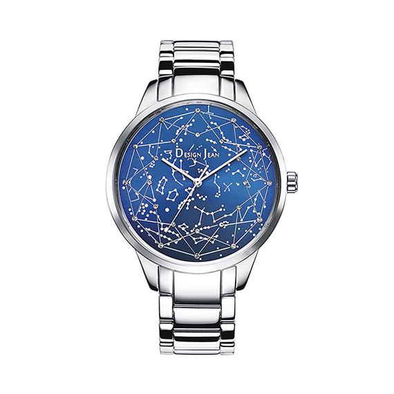 女錶|夜光繁星 浪漫銀河 鋼帶