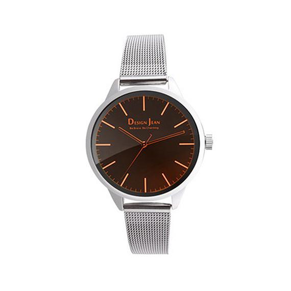 女錶|俐落城市風 鋼色經典米蘭帶