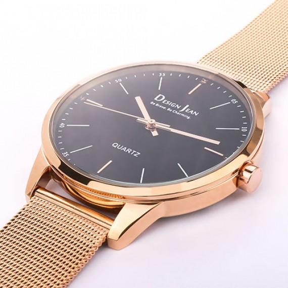 女錶|經典時尚風格腕錶 玫瑰金米蘭帶 42mm