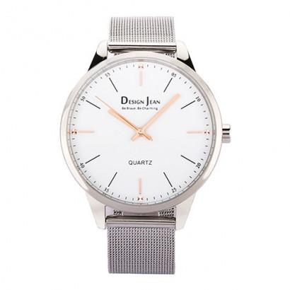 女錶|經典時尚風格腕錶 鋼色米蘭帶 34mm